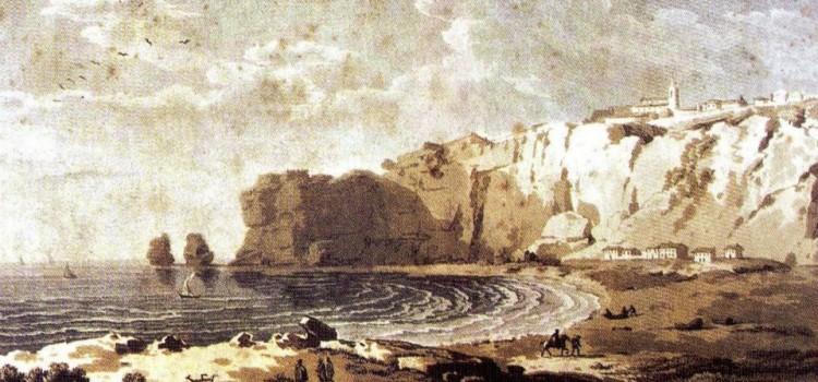 Fort of São Miguel Arcanjo, in Nazaré